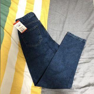 Tommy 全新 深藍 復古 牛仔褲