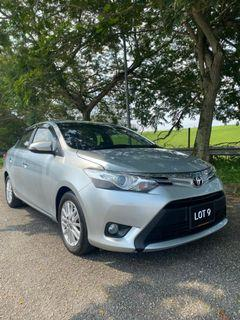 TOYOTA VIOS 1.5 AUTO G SPEC 2013 WITH FULL LEATHER SEAT
