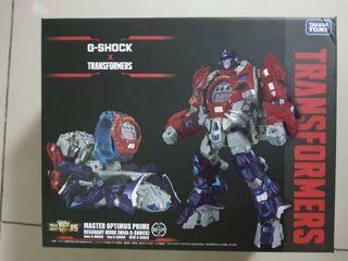 Transformers Casio G-shock Optimus Prime