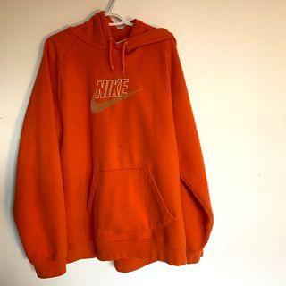 Y2k vintage Nike Orange Hoodie