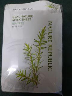 韓國茶樹面膜10片装共買30元,到期日2022年9月