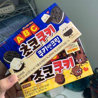 韓國字母巧克力