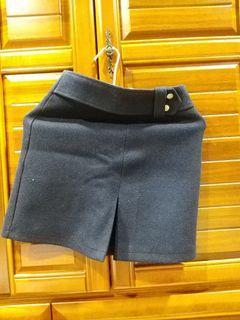 深藍色褲裙