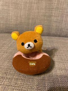 拉拉熊 甜甜圈吊飾