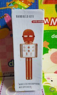 【家居系列】喇叭 耳機 麥克風 USB 充電 香檳金 典藏款