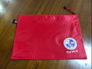 全新 DIWA 迪華世界潛水教練協會 A4 資料袋