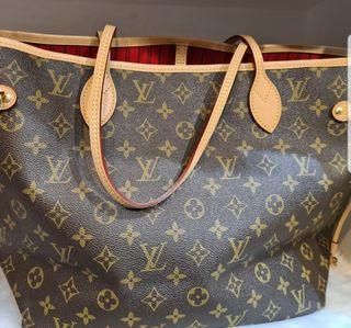 💯 LV neverfull cherry lining with searchable code