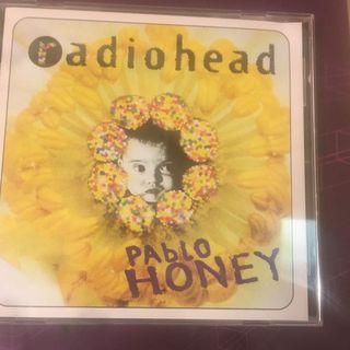 二手 Radiohead Pablo Honey 歐版CD