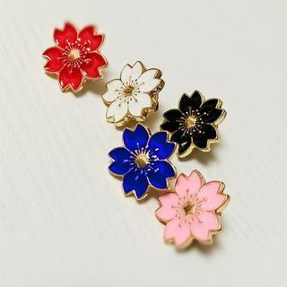 🌸 Sakura 櫻花 花朵 胸針 襟章