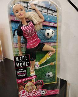 Barbie MTM Soccer Sale 200.000 nett🔥