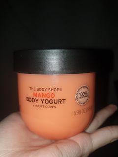 body yogurt mango the body shop