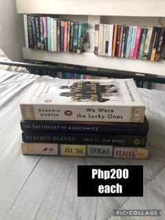 Books at Php200 each