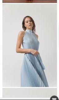 Claude Aera Dress in Baby Blue