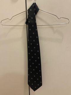 COZZA 藍格鍛紋領帶