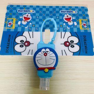 Doraemon 多啦A夢 叮噹口罩夾+酒精搓手液套連空瓶套裝💙💙