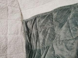Fleece and velvet weighted blanket clearance