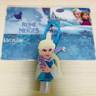 Frozen Elsa Anna 魔雪奇緣 口罩夾+酒精搓手液套連空瓶套裝❄️❄️