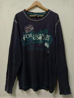 FUBU Tshirt Long Sleeves