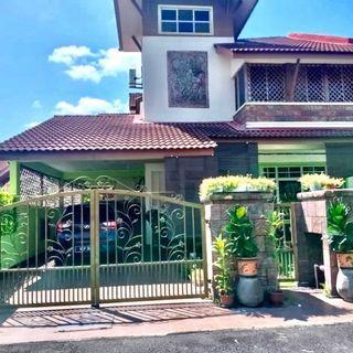 Fully Furnished And Renovated Double Storey Semi D Taman Sentosa Mekar, Teras Jernang, Bangi Untuk Dijual