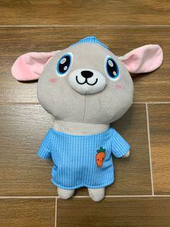 Grey rabbit doll 灰兔 毛公仔