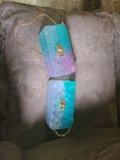 Hard plastic purses