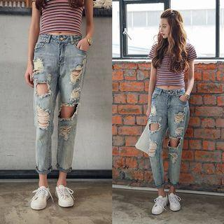 [instock] Ripped Jeans