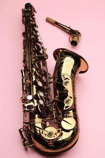 "ISHIMORI Wood Stone Sax ""New Vintage"" Alto Saxophone Vintage Lacquer (VL) with F# Modern Selmer Mark VI"
