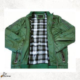Jaket Utility Parka Premium Dark Green Emporio Armani Italia Second