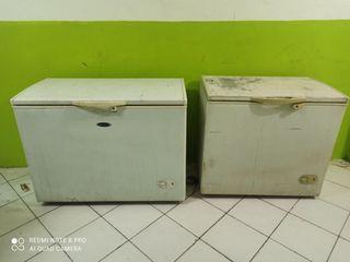 Jual borong dua 2 unit freezer box frizer