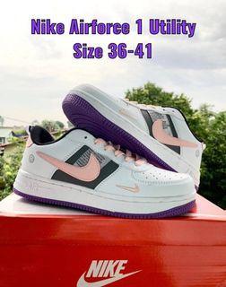 Kasut Nike white purple
