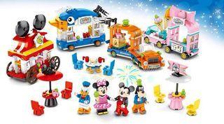 Lego Mini brick Minnie Mouse Food Stall