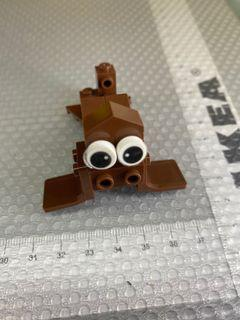 Lego style brown seal