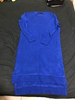 LOVFEE寶藍針織洋裝