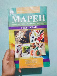 MAPEH First Year Texbook