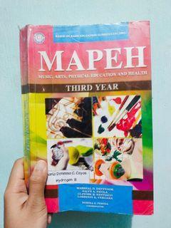 MAPEH Third Year