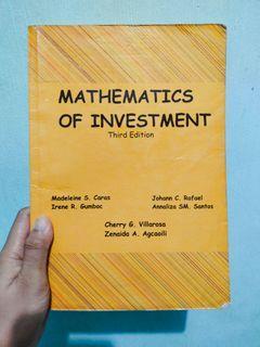 Mathematics of Investment - 3rd Edition