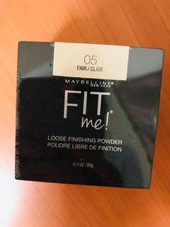 Maybelline fit me 蜜粉