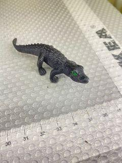 Mini black Alligator (actually looks like a real black lizard haha)