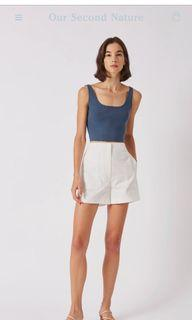 OSN Square Neck Knit Crop Top