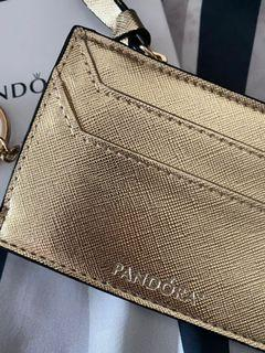 Pandora Card Holder Gold