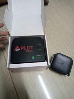 Pldt wifi router with xiaomi wifi repeater