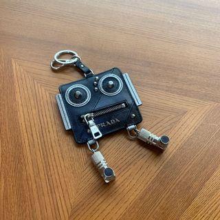 Prada 機器人 鑰匙圈 吊飾 x2
