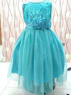 Preloved gaun anak 5-6 thn