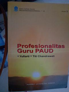 Profesionalitas guru paud