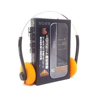Sony TCM-R2 Walkman Cassette Player/Recorder In Excellent Working Condition Made in Japan!