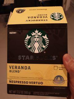 Starbucks Veranda Blend 咖啡膠囊(大杯)