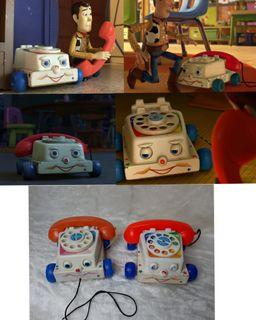 Toy Story Chatter Telephone 2pcs