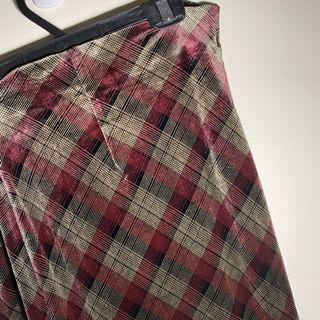 176.古著💁♂️絨布低調奢華的生活品質長裙