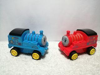 2 Pcs. Thomas Transformer Type Train Toys Package