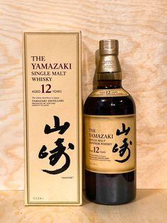 「暫時缺貨訂貨請揚聲」山崎 12年 日本威士忌 The Yamazaki Single Malt Whisky  700 ml